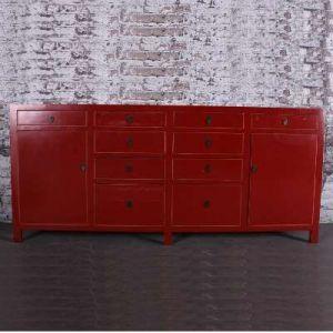 rood chinees dressoir