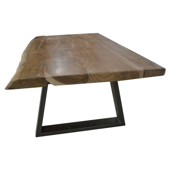Boomstam salontafel