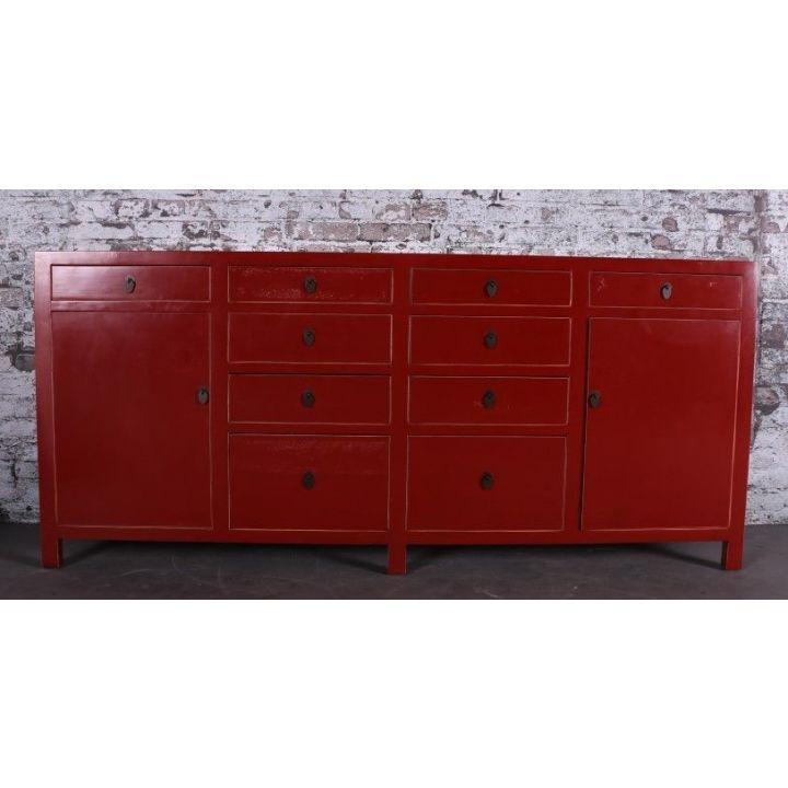 dressoir chinees rood