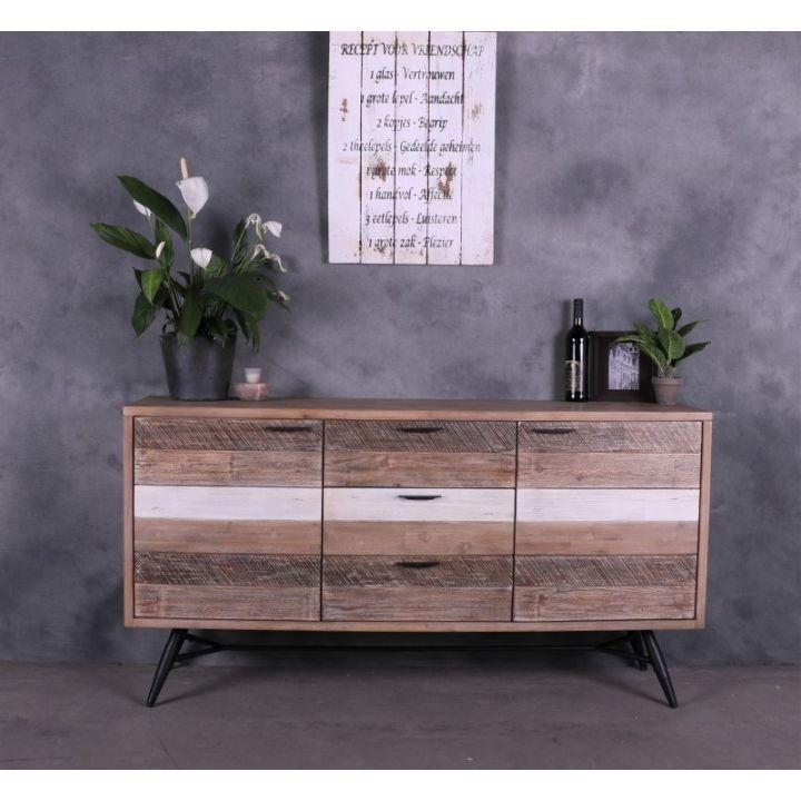 goedkoop houten dressoir grijs