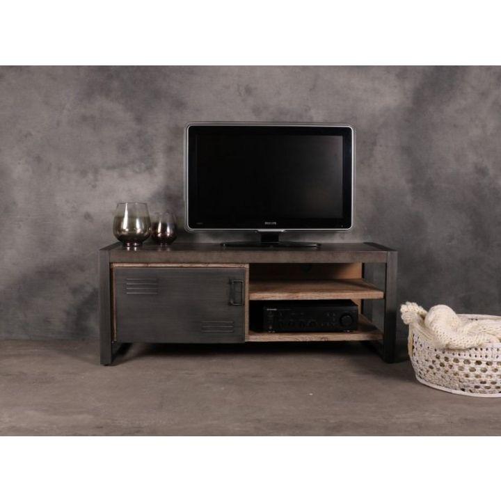 tv meubels industrieel 130cm