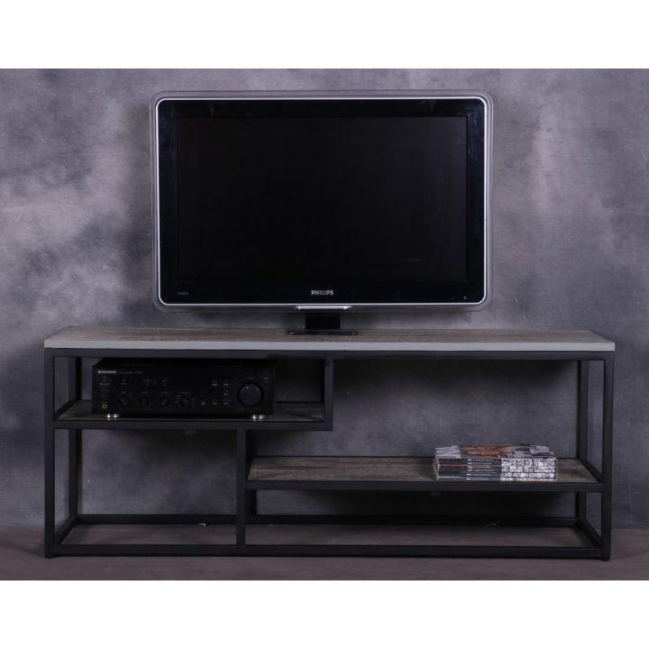 Industrieel tv meubel 130 cm