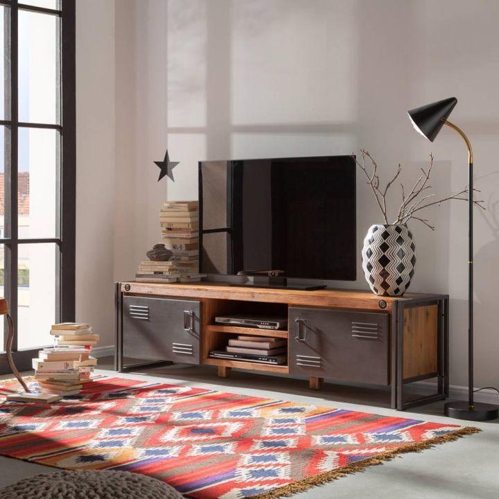 TV meubel industrieel 180 cm breed