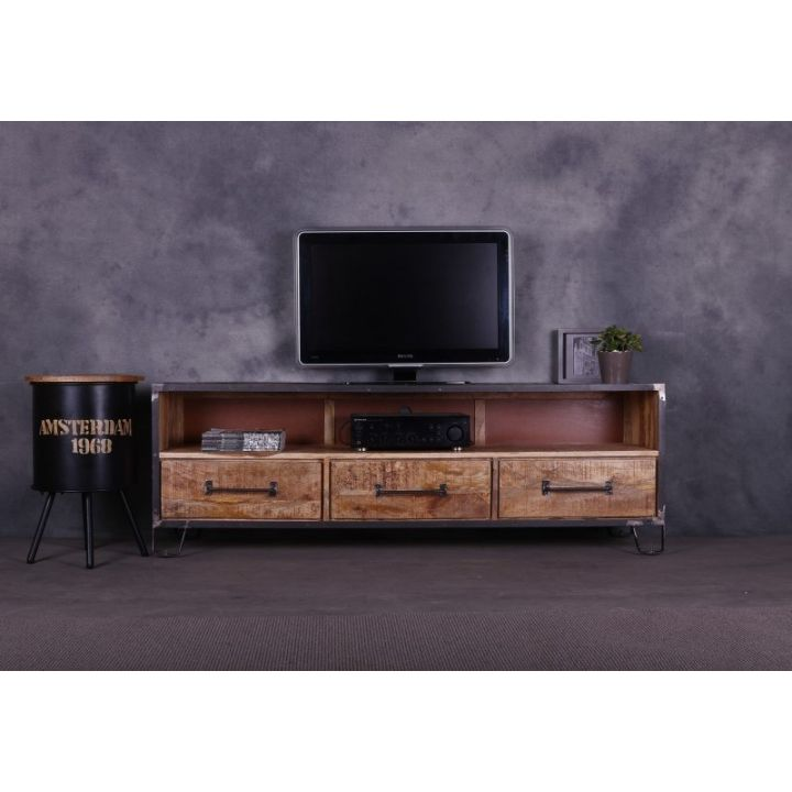 tv meubel mangohout 180cm