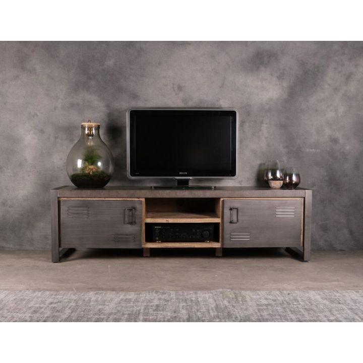 tv meubels industrieel betonlook 180