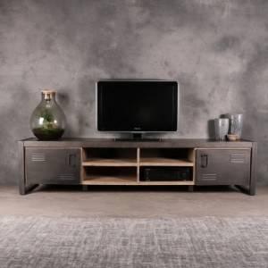 Tv meubels industrieel uit complete woonkamer