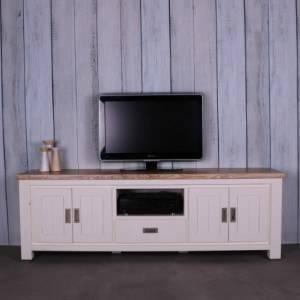 wit tv meubel 190 cm