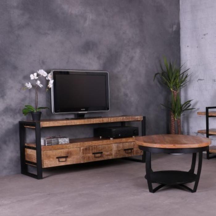 Tv meubel mangohout