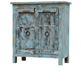Indiase meubels, kastjes met antieke deuren, Prijs: € 239,=
