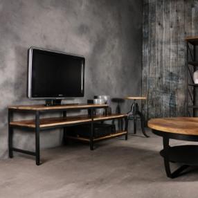 Industriële meubels van mango hout