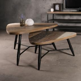 Industriële-salontafel-staal-met-hout