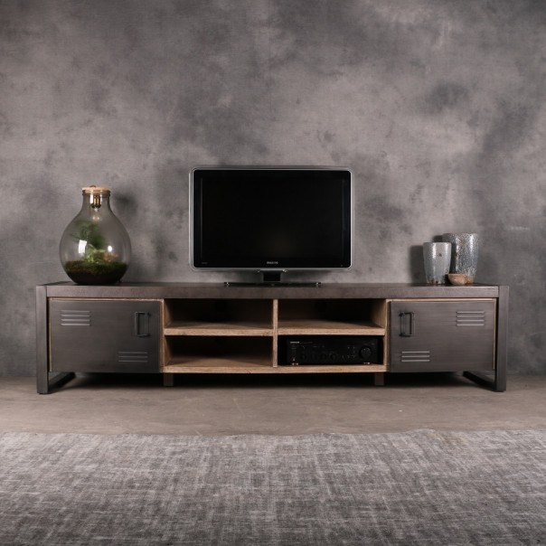 tv meubels industrieel 220cm