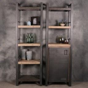 Industriële-boekenkasten