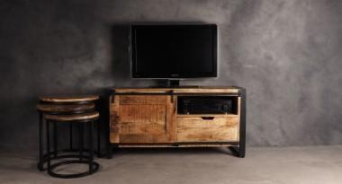 Mangohouten tv meubels